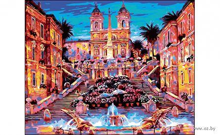 "Картина по номерам ""Италия. Рим"" (400x500 мм) — фото, картинка"