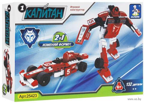 """Конструктор """"Капитан. Робот-трансформер"""" (132 детали) — фото, картинка"""