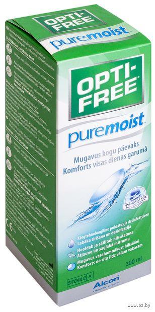 """Раствор для линз """"Opti-Free Pure Moist"""" (300 мл) — фото, картинка"""