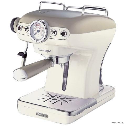 Кофеварка эспрессо Ariete 1389 Vintage (бежевый) — фото, картинка