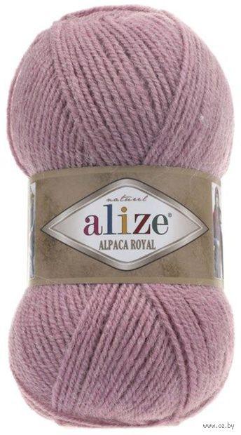 """Пряжа """"ALIZE. Alpaca Royal №269"""" (100 г; 250 м; розовый) — фото, картинка"""