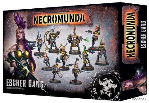Warhammer Necromunda. Underhive. Escher Gang (300-11) — фото, картинка