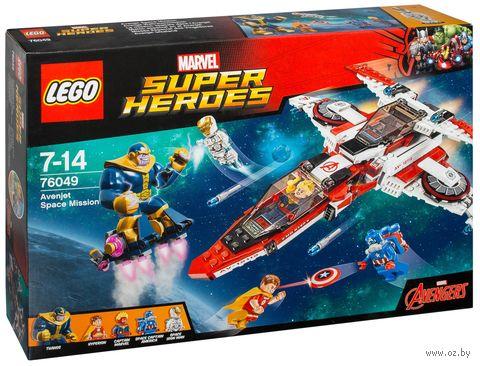 """LEGO Super Heroes """"Реактивный самолет Мстителей: космическая миссия"""""""