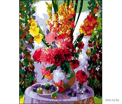 """Картина по номерам """"Летний букет"""" (400x500 мм) — фото, картинка"""