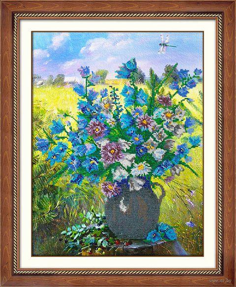 """Вышивка бисером """"Полевые цветы"""" (290х380 мм) — фото, картинка"""
