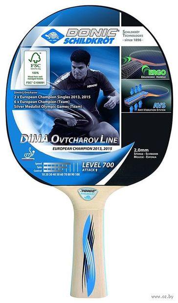 """Ракетка для настольного тенниса """"Schidkroet Ovtcharov 700 FSC"""" — фото, картинка"""