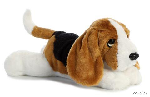 "Мягкая игрушка ""Бассет-хаунд"" (30 см) — фото, картинка"