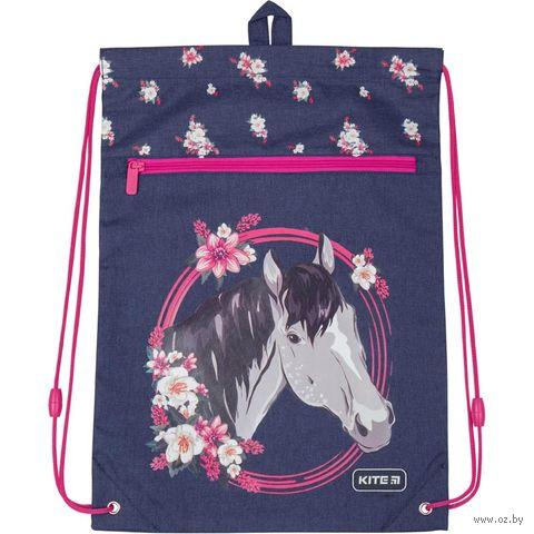 """Рюкзак-мешок """"Beautiful Horse"""" (арт. K19-601M-11) — фото, картинка"""