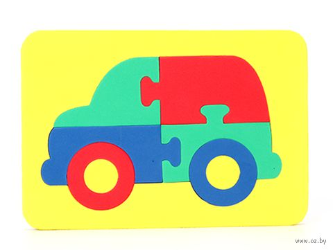 "Рамка-вкладыш ""Мозаика. Автомобиль"""