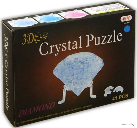 """Пазл """"3D Crystal Puzzle. Кристалл"""" (41 элемент)"""