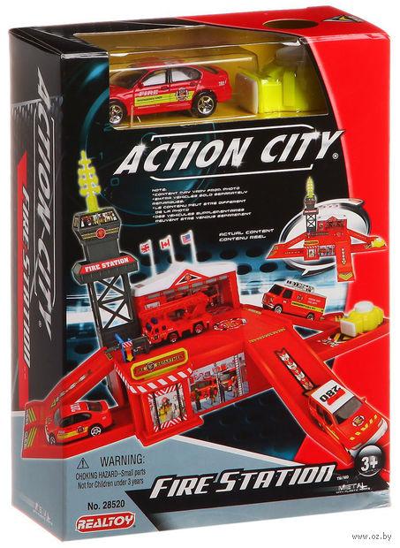 """Игровой набор """"Пожарная станция"""" (арт. Г42224)"""