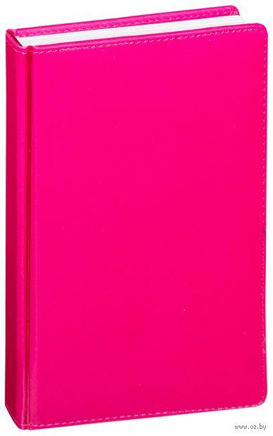 """Ежедневник недатированный """"Velvet"""" (A5; розовый) — фото, картинка"""