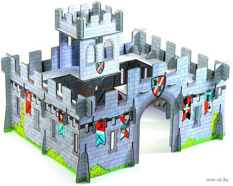 """Сборная модель из картона """"Средневековый замок"""" — фото, картинка"""