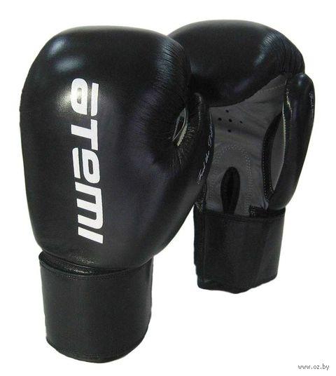 Перчатки боксёрские LTB19009 (12 унций; чёрные) — фото, картинка