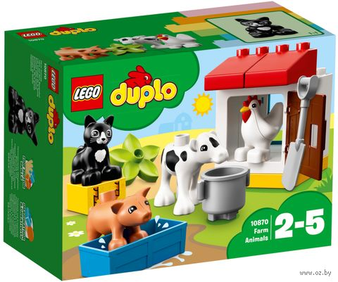 "LEGO Duplo ""Ферма: домашние животные"" — фото, картинка"