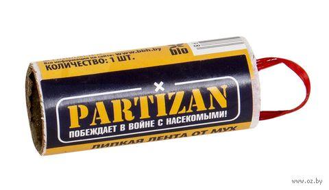"""Липкая лента от мух """"Partizan"""" — фото, картинка"""