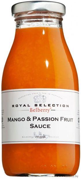 """Соус фруктовый """"Belberry. Из манго и маракуйи"""" (250 мл) — фото, картинка"""