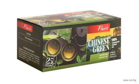 """Чай зеленый """"Floris. Chinese Green"""" (25 пакетиков) — фото, картинка"""