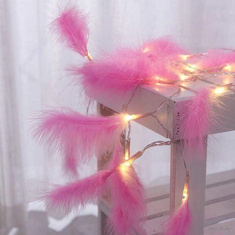 """Гирлянда """"Волшебные перья"""" (10 лампочек; арт. KW032-000045) — фото, картинка"""