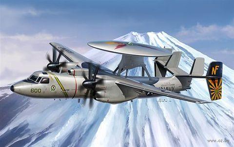 """Палубный самолет """"E2-C Hawkeye"""" (масштаб: 1/48) — фото, картинка"""