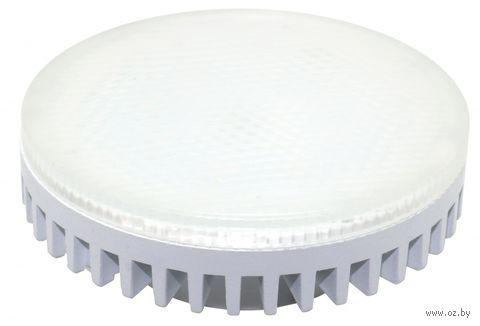 Светодиодный (LED) Tablet GX53 Smartbuy-8W/4000K/Матовое стекло