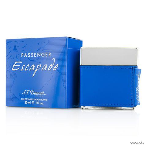 "Туалетная вода для мужчин S.T. Dupont ""Passenger Escapade"" (30 мл) — фото, картинка"