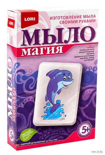 """Набор для изготовления мыла """"Озорной дельфинчик"""" — фото, картинка"""