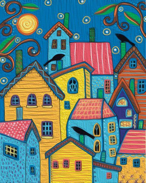 "Картина по номерам ""Карла Жерар. Сказочные домики"" (400х500 мм) — фото, картинка"