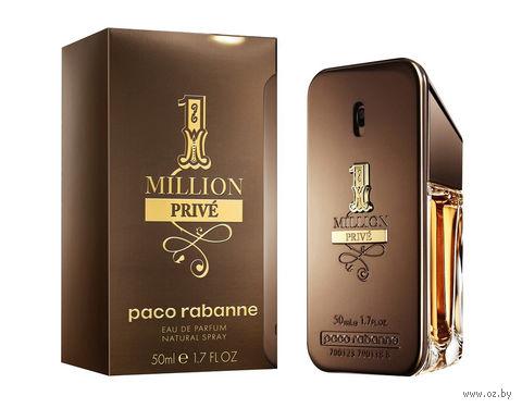 """Парфюмерная вода для мужчин Paco Rabanne """"1 Million Prive"""" (50 мл) — фото, картинка"""