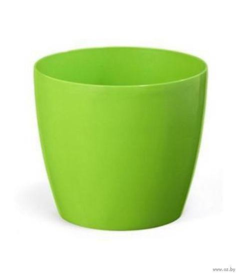 """Кашпо """"Magnolia"""" (13,5 см; зеленое) — фото, картинка"""
