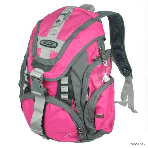 Рюкзак П1507 (29 л; розово-серый) — фото, картинка