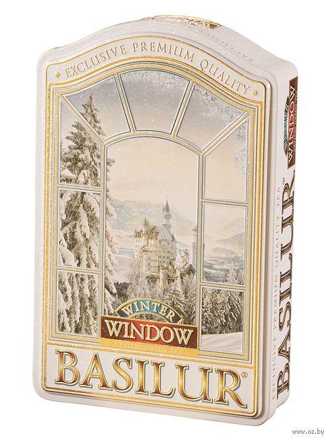 """Чай зеленый листовой """"Basilur. Зима"""" (100 г; в банке) — фото, картинка"""
