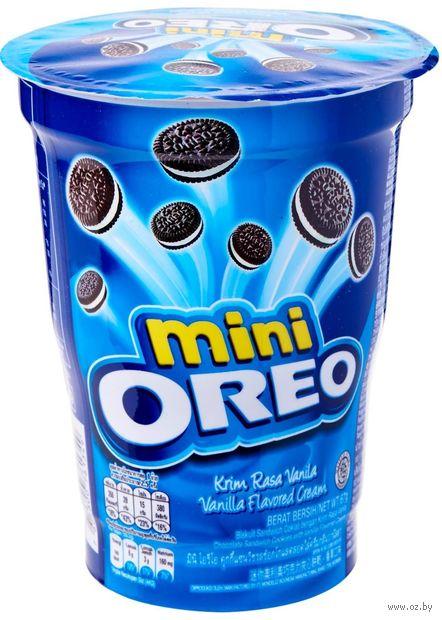 """Печенье """"Oreo. Mini. С ванильным кремом"""" (67 г) — фото, картинка"""