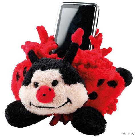 """Держатель мобильного телефона Fuzzy Friends """"Божья коровка"""""""