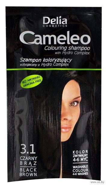 Оттеночный шампунь для волос (тон: 3,1; 40 мл)