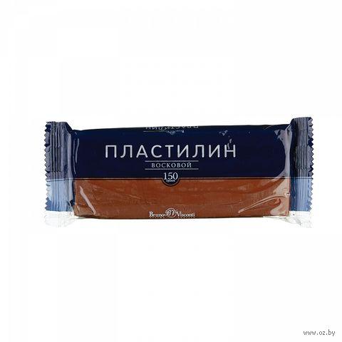 Пластилин восковой (150 г; коричневый) — фото, картинка