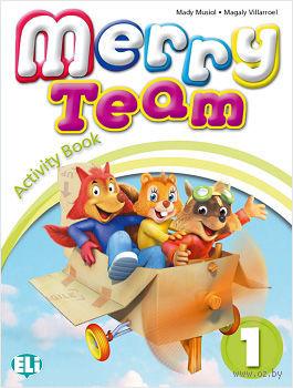 Merry Team: Activity Book v. 1 (+ CD) — фото, картинка