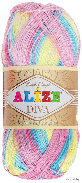 "Пряжа ""ALIZE. Diva Batik Design №5953"" (100 г; 350 м) — фото, картинка"