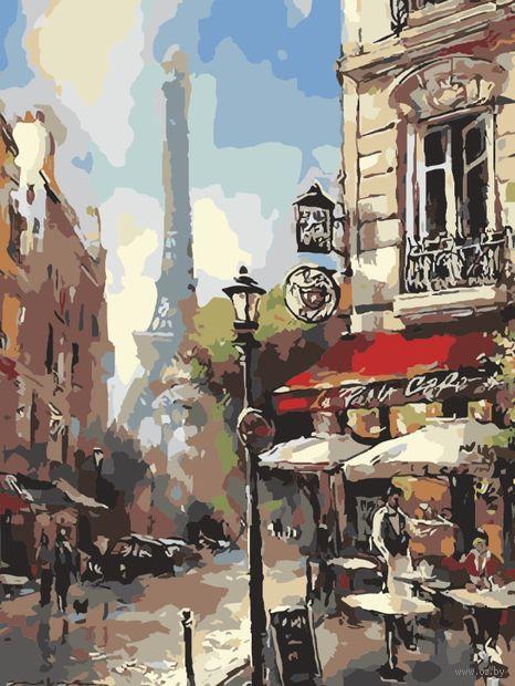 """Картина по номерам """"Парижская прогулка"""" (400х500 мм) — фото, картинка"""