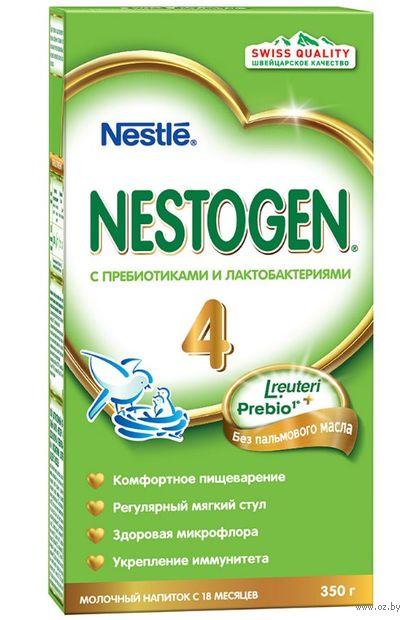 """Напиток сухой молочный """"Nestle. Nestogen 4"""" (350 г) — фото, картинка"""