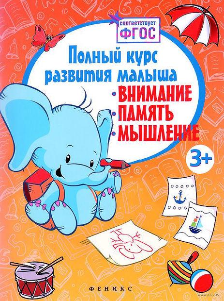 Полный курс развития малыша. Внимание, память, мышление — фото, картинка