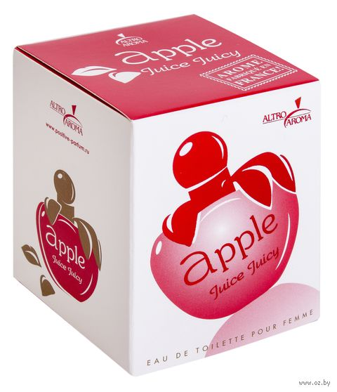 """Туалетная вода для женщин """"Apple Juice. Juicy"""" (50 мл) — фото, картинка"""