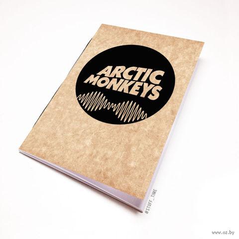 "Блокнот крафт ""Arctic Monkeys"" А7 (065)"