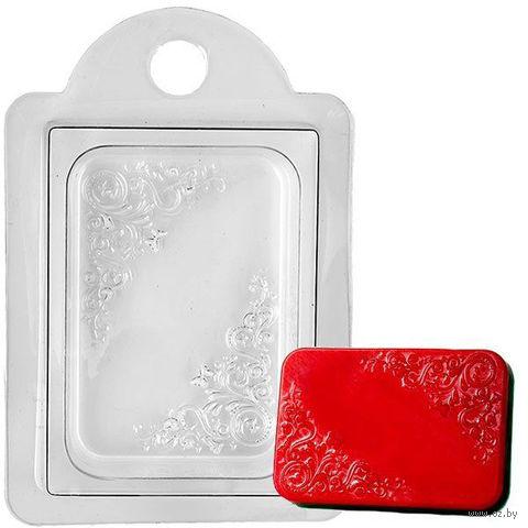 """Форма для изготовления мыла """"Орнамент прямоугольный"""" — фото, картинка"""