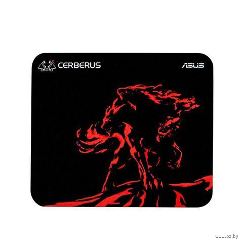 Коврик для мыши Asus Cerberus Mat Mini (черный/красный) — фото, картинка