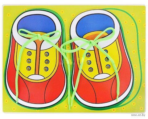 """Шнуровка """"Ботинки"""" (арт. 1969-23) — фото, картинка"""
