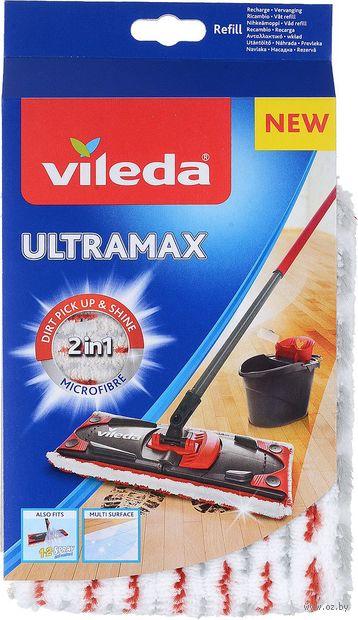 """Насадка для швабры сменная из микроволокна """"Ultra Max"""" (360х140 мм) — фото, картинка"""