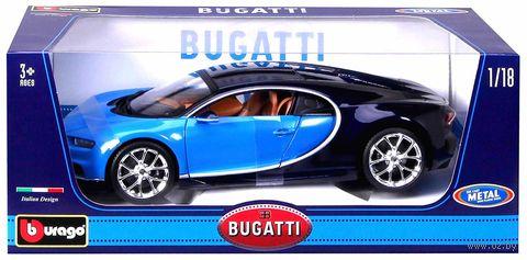 "Модель машины ""Bburago. Bugatti Chiron"" (масштаб: 1/18) — фото, картинка"