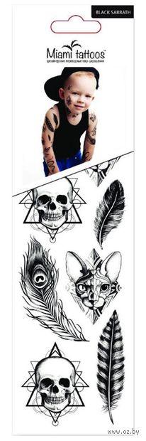 """Набор татуировок для тела """"Black Sabbath"""" — фото, картинка"""