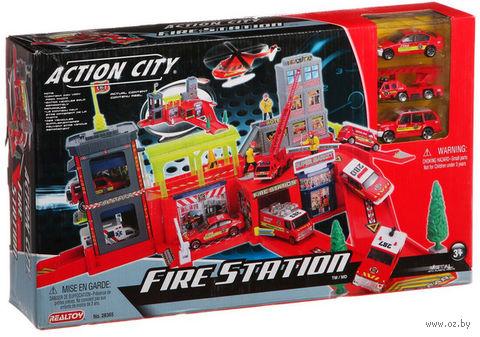 """Игровой набор """"Пожарная станция"""" (арт. Г42648)"""